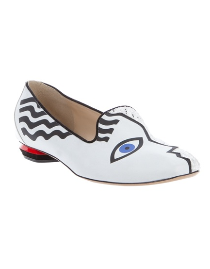 picasso design slipper